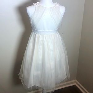 New with tags girls Ivory dress